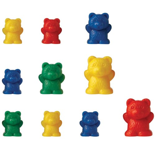 Rainbow Counting Bears with Matching Sorting Cups 763985822981 | eBay