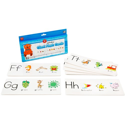 Giant Flash Cards - Alphabet