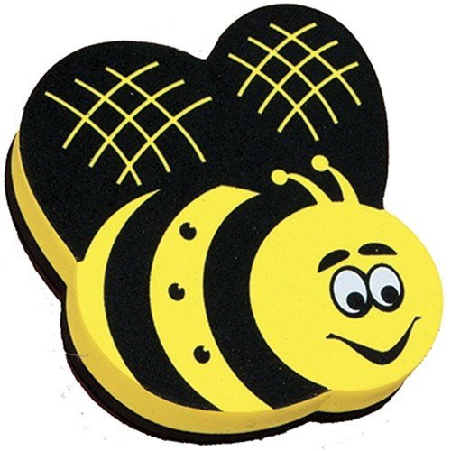 Magnetic Whiteboard Eraser - Bee