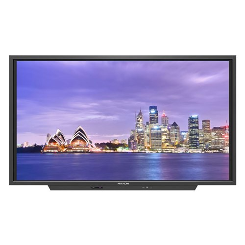 "Hitachi 75"" UHD lnteractive Panel with Screen Mirroring"