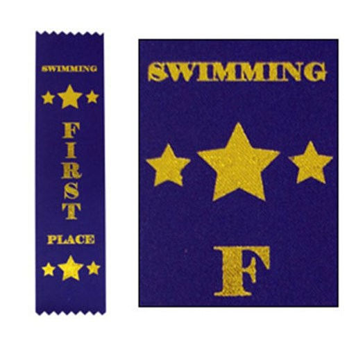 Swimming Ribbons 1st Place