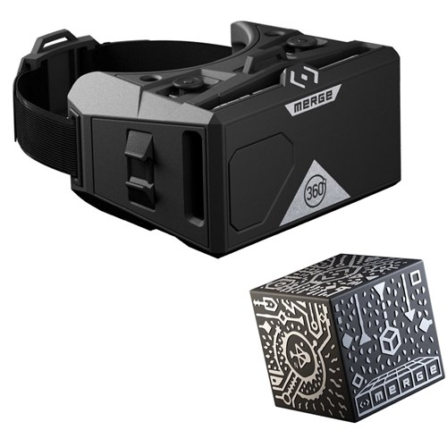 Merge VR Mobile AR/VR Headset & Holographic Cubes + Storage