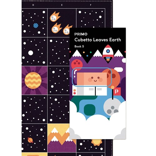 Primo Toys Cubetto Map and Story Book - Space
