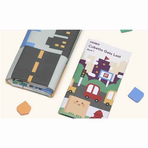 Primo Toys Cubetto Map and Story Book - City