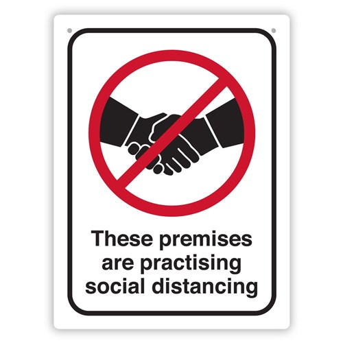 Health & Safety Sign Pack - Practising Social Distancing