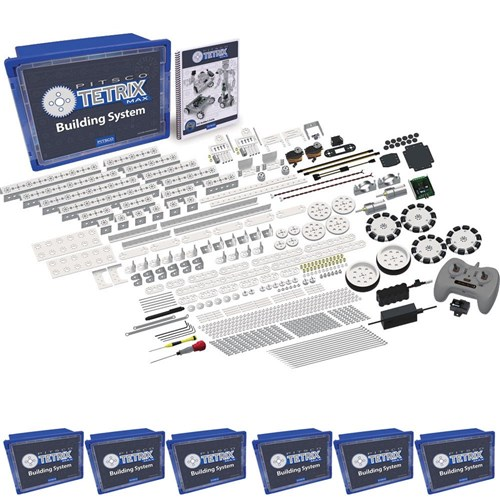 TETRIX MAX R/C Robotics Kit Class Pack