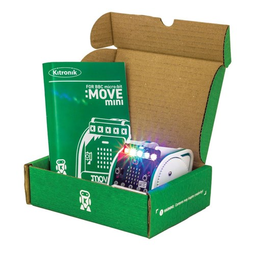 Kitronik :MOVE mini Buggy Kit + BBC micro:bit Bundle