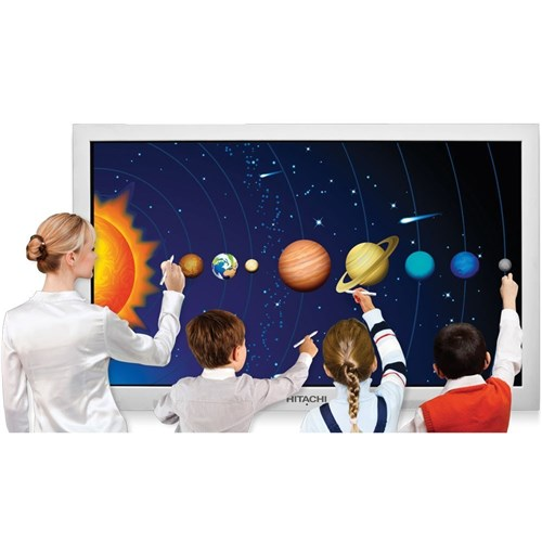 "Hitachi 65"" Interactive Panel & 4 Year Warranty Pack"