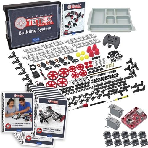 TETRIX PRIME and EV3 Kit for LEGO MINDSTORMS Class Bundle