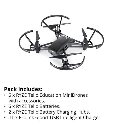RYZE Tello Education MiniDrone Group Pack 1