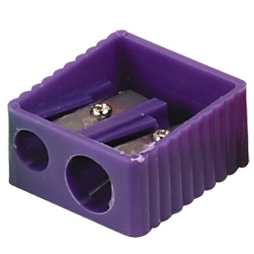 Pencil Sharpener Double Hole Plastic Wedge