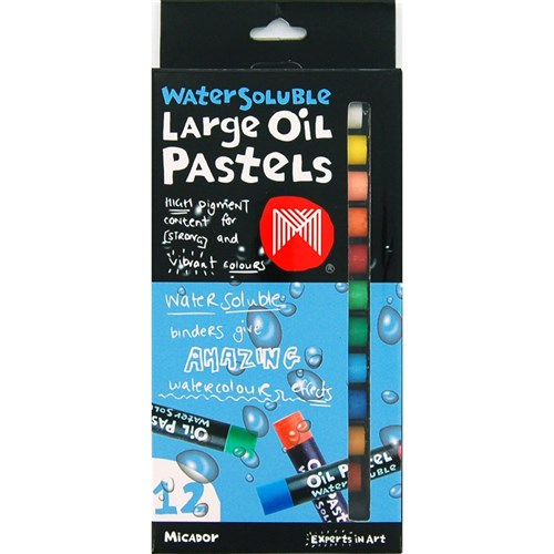 Micador Oil Pastels Large Water Soluble