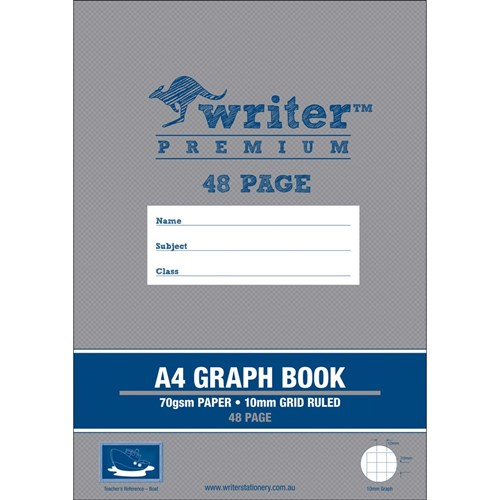 Writer Premium Graph Book A4 10mm Boat 48 pg