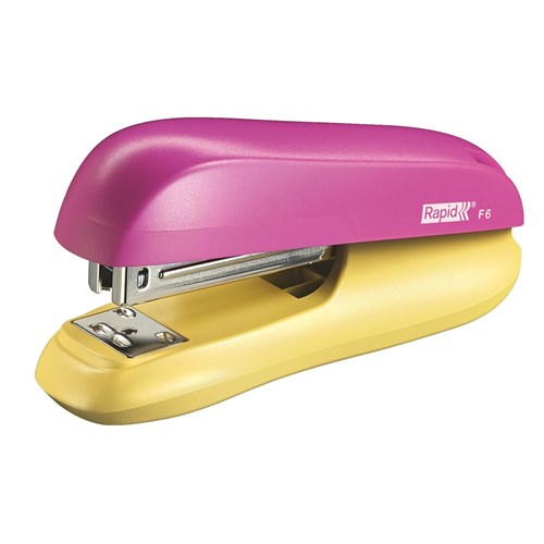 Rapid Stapler F6 Half Strip Pink / Yellow