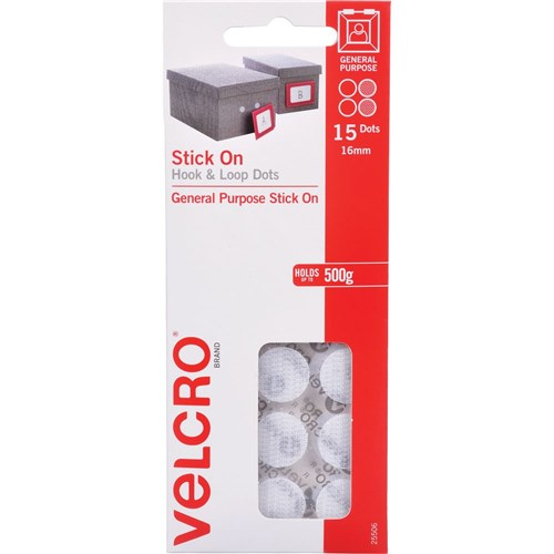 VELCRO Brand Stick on Hook and Loop Fasteners