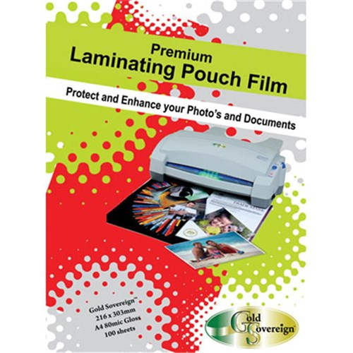 Laminating Pouch A4 100 micron Gloss