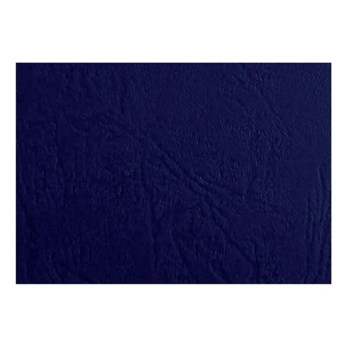 Binding Covers A4 Leather Grain 250gsm Dark Blue