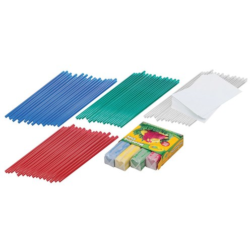 Pitsco Straw Rockets Class Pack of 30