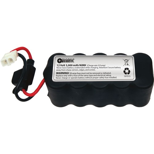 TETRIX MAX 12v Rechargeable NiMH Battery Pack 3000mAh
