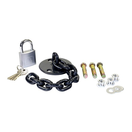 PC Locs Heavy Duty Lock Down Kit for Carrier Carts