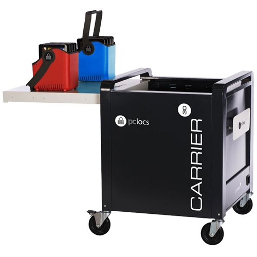 PC Locs Carrier 30 Cart Tablet Charging & Storage - 30 Bay