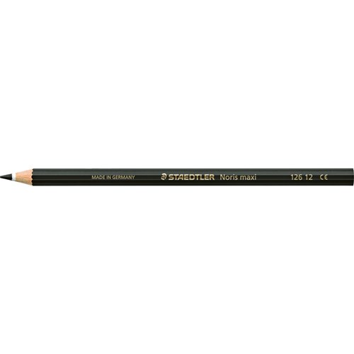 STAEDTLER Noris Club Maxi Learner Coloured Pencil Black