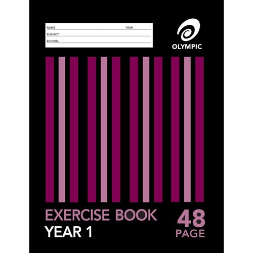 Zsp140742 Olympic Exercise Book Special Ruling Yr 1 24mm