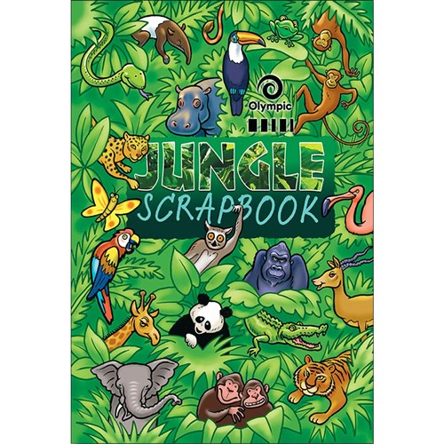 Olympic Scrapbook Jungle 335 x 240mm 64 pg
