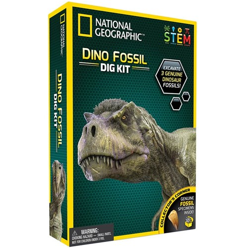 National Geographic Dinosaur Dig Fossil Kit