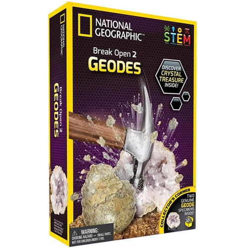 National Geographic Break Open Geodes Science Kit
