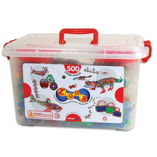 ZOOB Construction Kit - 500 Piece Tub