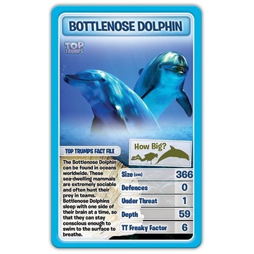 Top Trumps Card Game - Creatures of the Deep