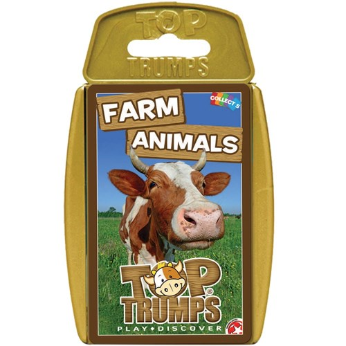 Top Trumps Card Game - Farm Animal