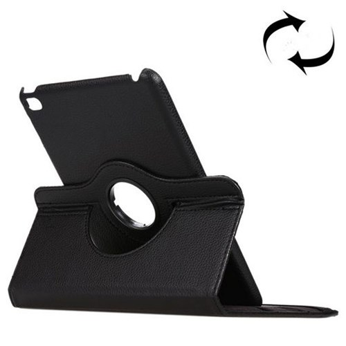 360° Rotatable Leather Case with Stand - iPad mini 4 Black