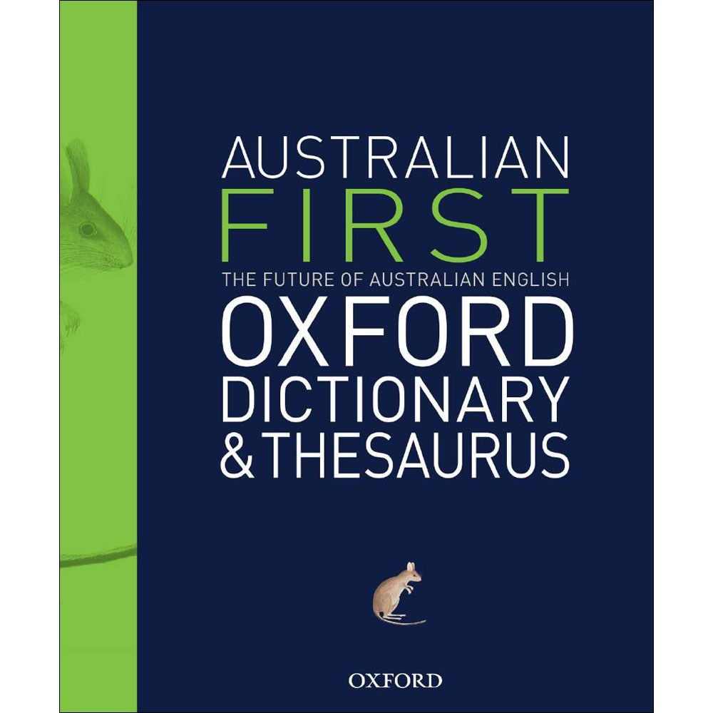 9780195551938 - Oxford First Australian Dictionary ...