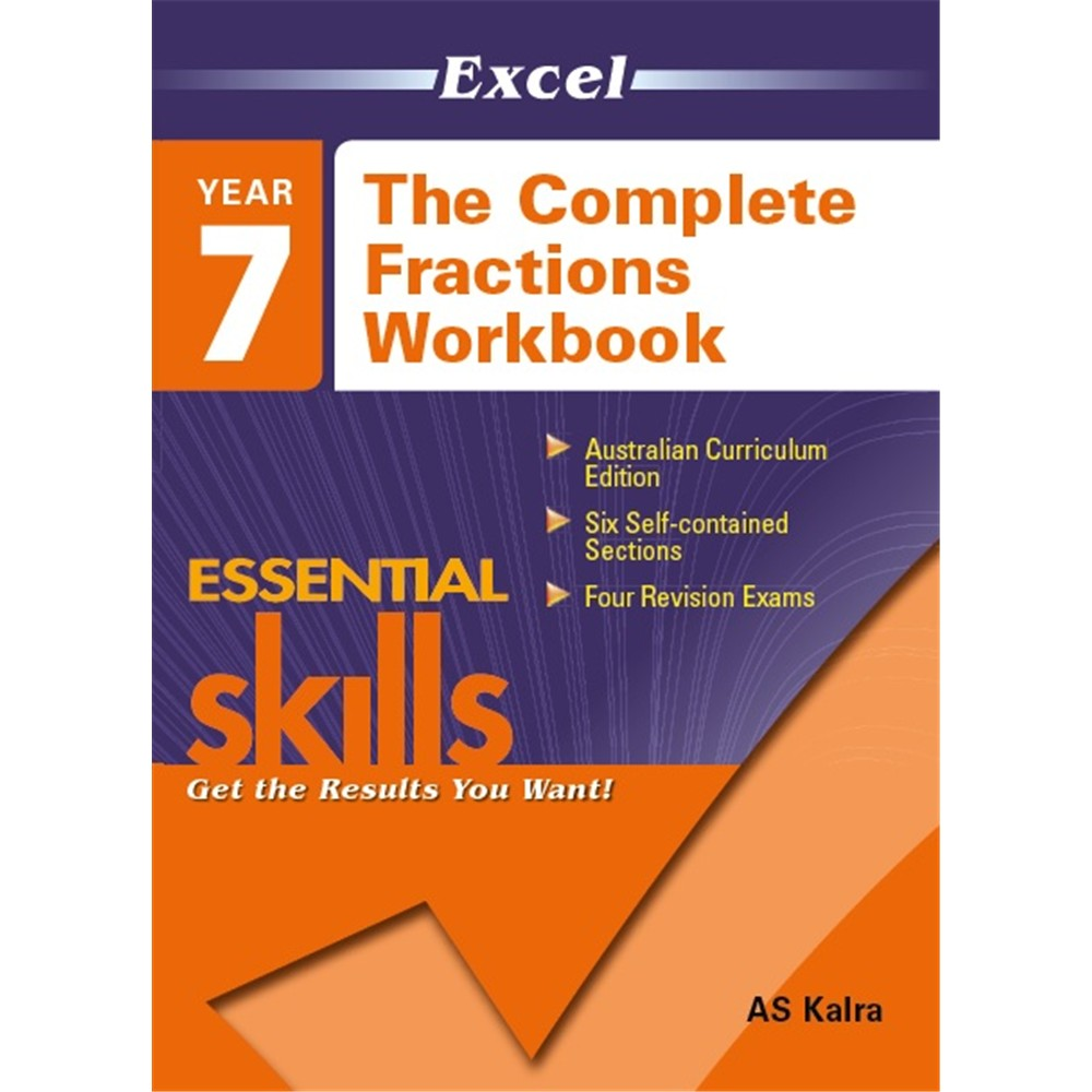 9781740200431 - Excel The Complete Fractions Workbook Year 7 ...