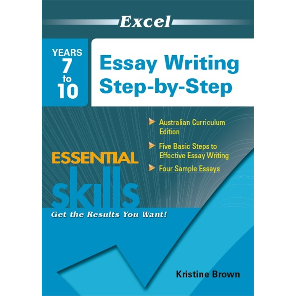 excel essay writing step by step years  unit description