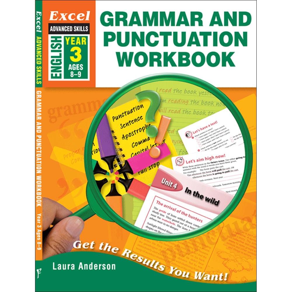 Workbooks grammar and punctuation workbook : 9781741253993 - Excel Advanced Skills Grammar & Punctuation ...