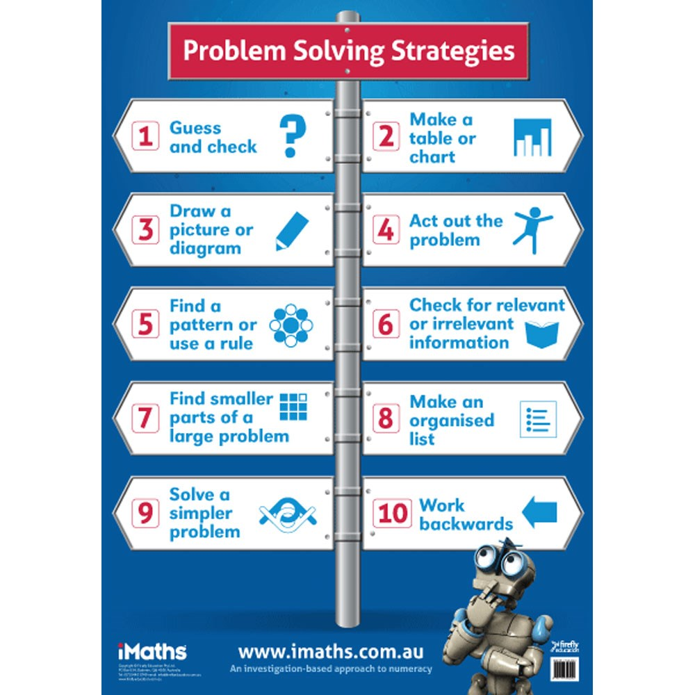 9781741353242 imaths problem solving poster kookaburra imaths problem solving poster zoom share this product pooptronica