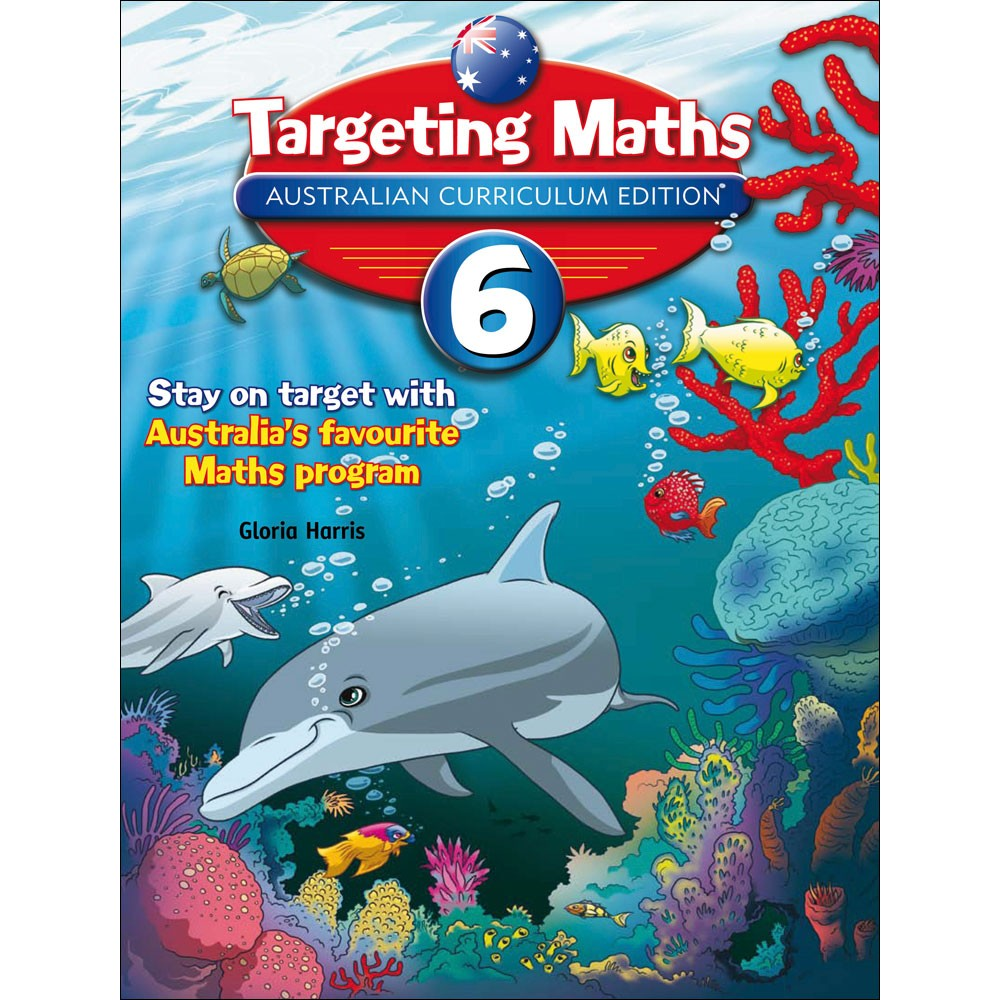 9781742152257 - Targeting Maths AC Student Book Year 6 - Kookaburra ...