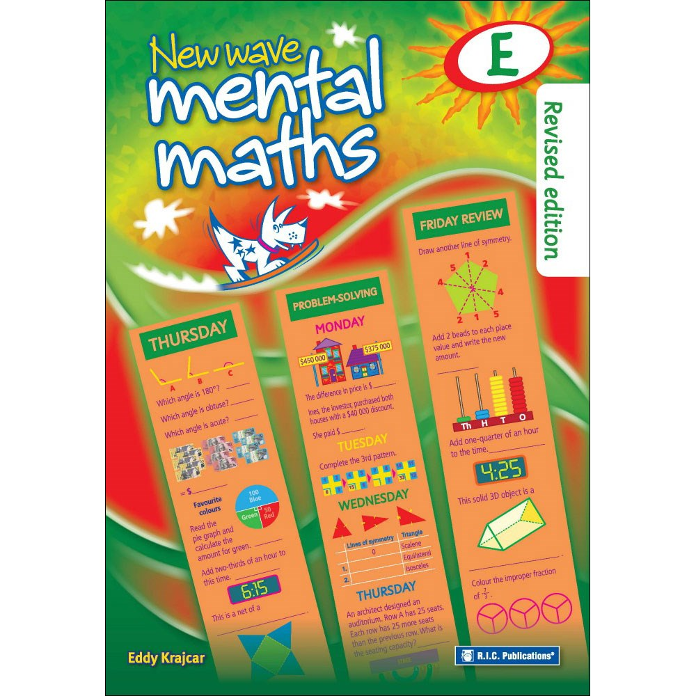 9781921750038 - New Wave Mental Maths Book E Age 9-10 (New Ed ...