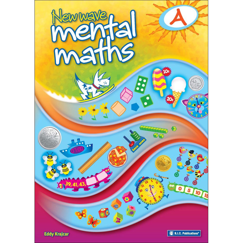 NEW WAVE MENTAL MATHS Book A BNew Revised Edition primary kids ...