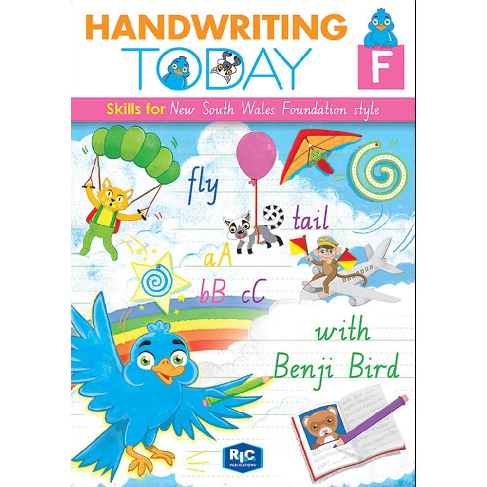 9781925698169 - Handwriting today NSW Workbook Foundation ...