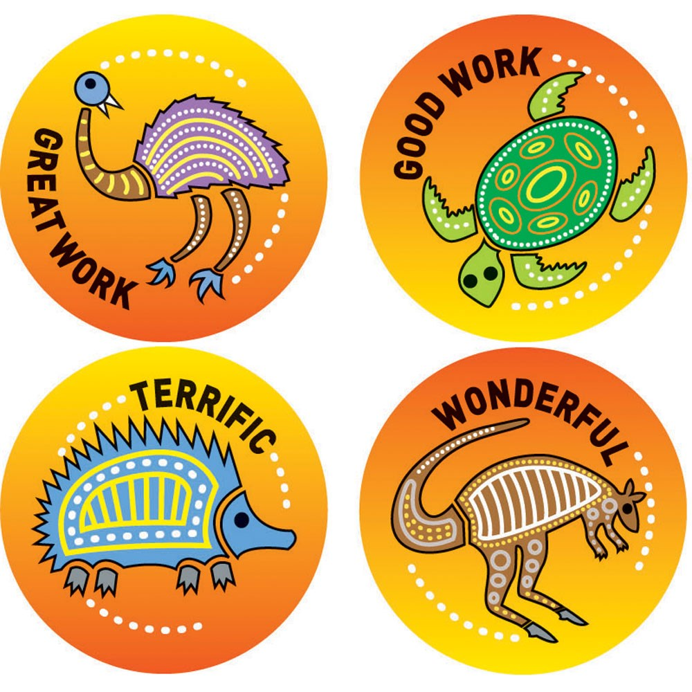 Merit stickers aboriginal zoom prev