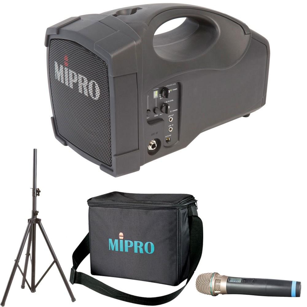 Zatma101am Mipro Ma101 Portable Pa Freq Agile Wireless