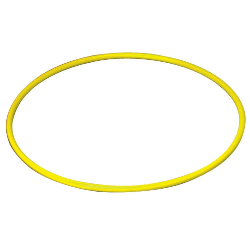 Hart Hula Hoop Solid 63cm Yellow on Sports Writing