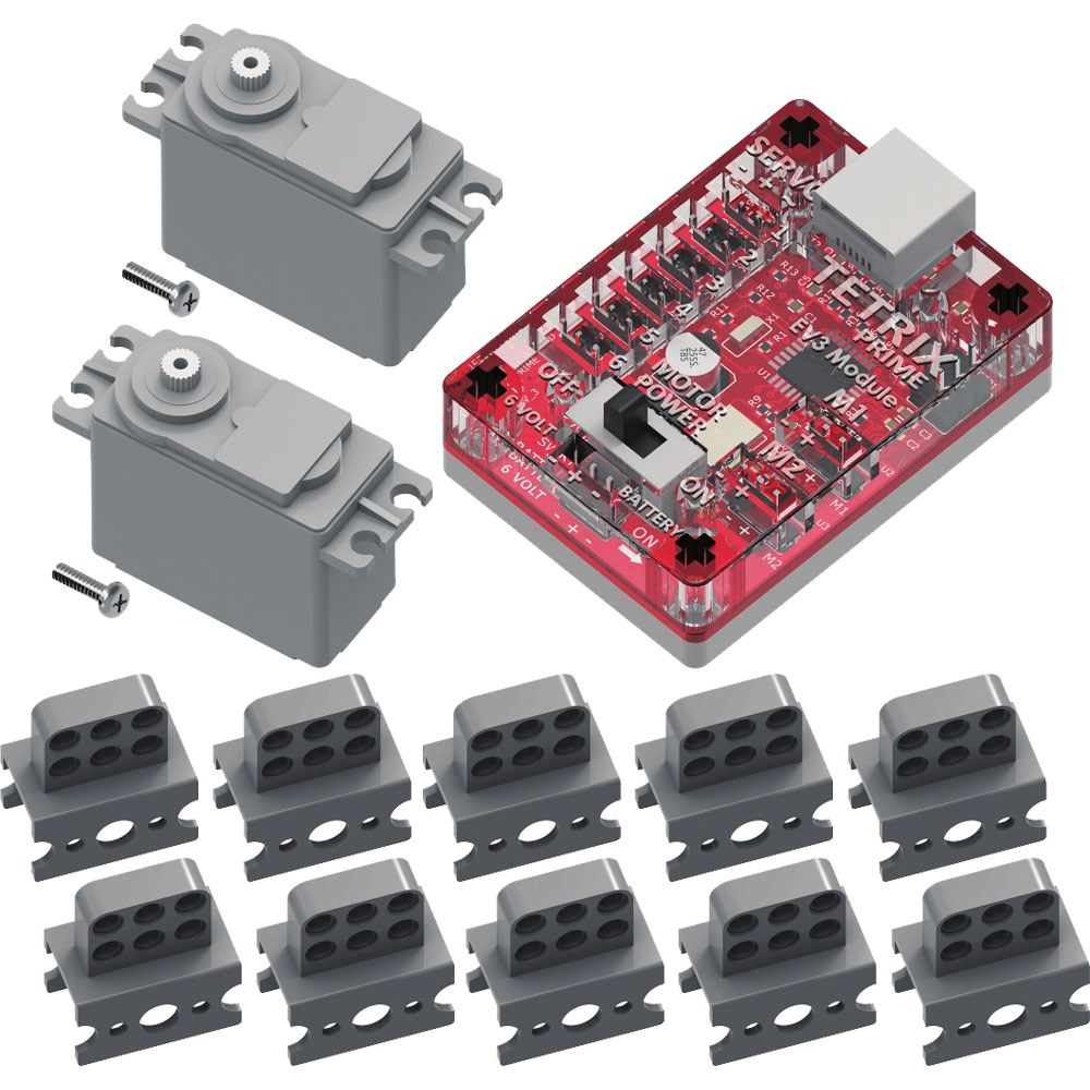 TETRIX PRIME and EV3 Kit for LEGO MINDSTORMS Class Bundle