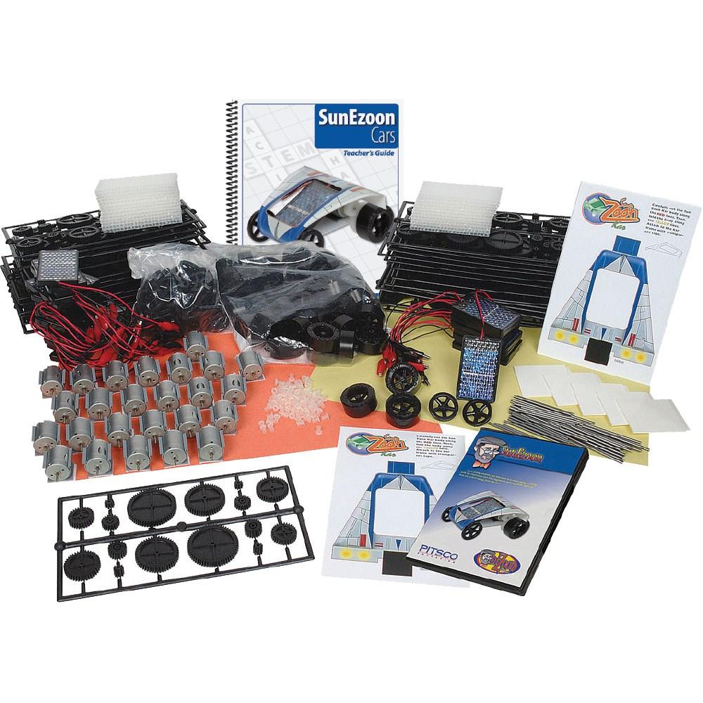 Pitsco SunEzoon Solar Cars Classroom Kit