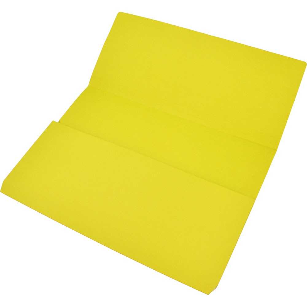 Zkodwyellow Manilla Document Wallet Foolscap Yellow