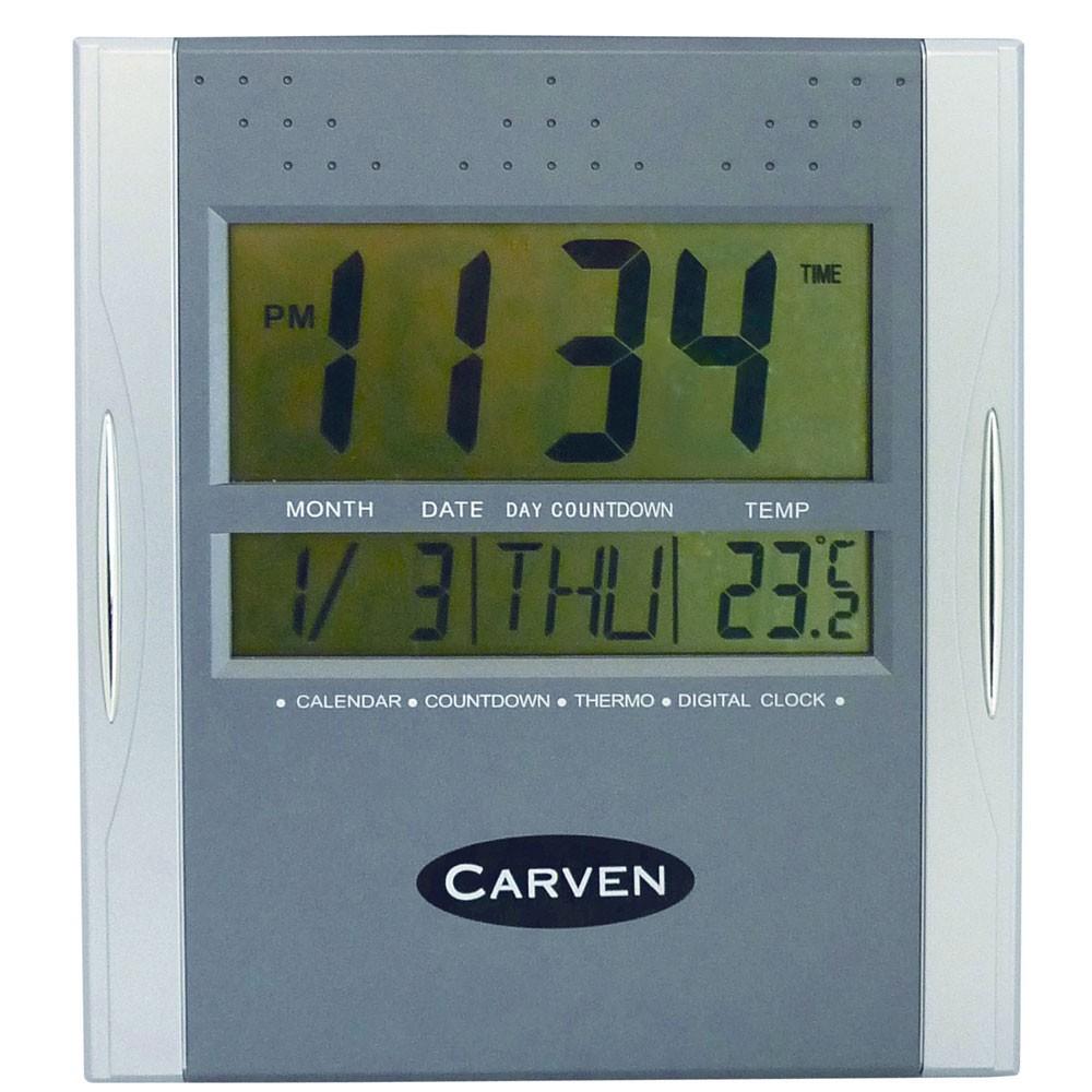 Zpecldigital Digital Calendar Clock Kookaburra